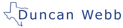 Duncan Webb for Collin County Commissioner Logo